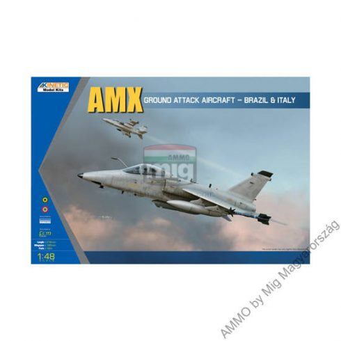 KINETIC 48026 AMX Ground Attack Aircraft-Brazil & Italy