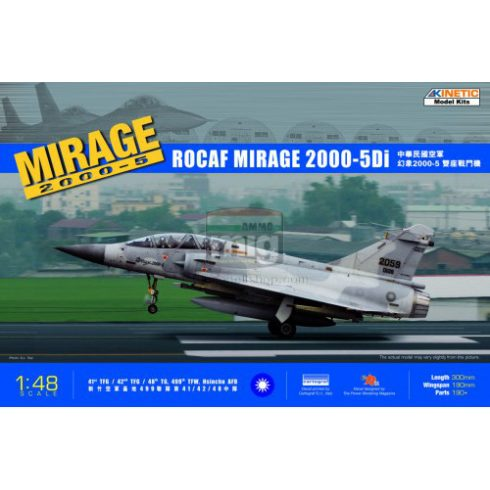 KINETIC 48037 1/48 MIRAGE 2000D-5i ROCAF