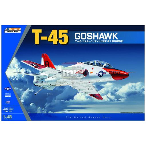 KINETIC 48038 1/48 T-45A/C GOSHAWK makett