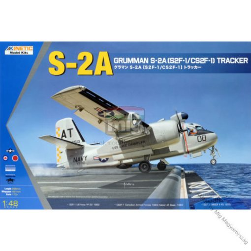 KINETIC 48039 Grumman S-2A [S2F-1/CS2F-1] Tracker makett