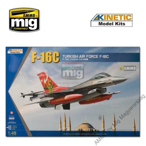 KINETIC 48069 1/48 F-16C TURKEY 20YEARS ANN. makett