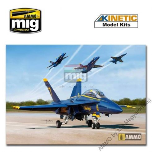 KINETIC 48073 1/48 USN BLUE ANGLE 2017 F/A-18A/B/C/D