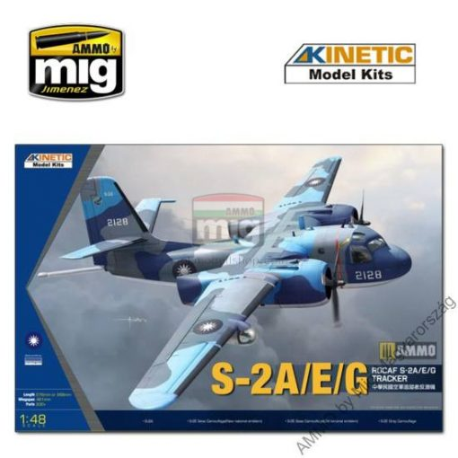 KINETIC 48074 1/48 S-2A/E ROCAF makett