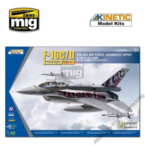 KINETIC 48076 1/48 F-16C/D POLISH TIGER MEET 2013/2014
