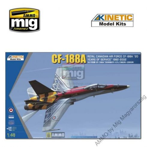 KINETIC 48079 1/48 CF-188A 20 YRS SERVICES
