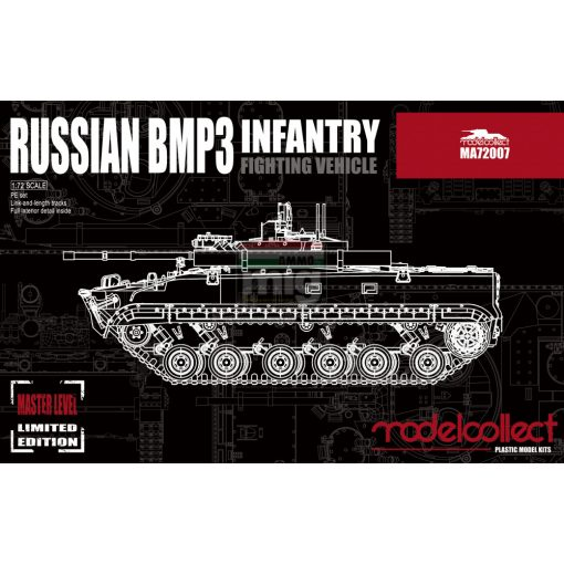 MA72007 Russian BMP3 infantry fighting vehicle makett
