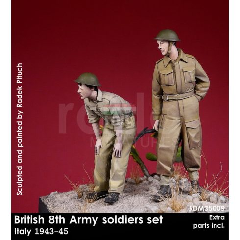 RDM35009 British 8th Army soldiers, 1943-45