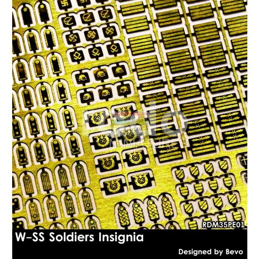 RDM35PE01 W-SS Soldiers Insignia set (photo-etched parts)