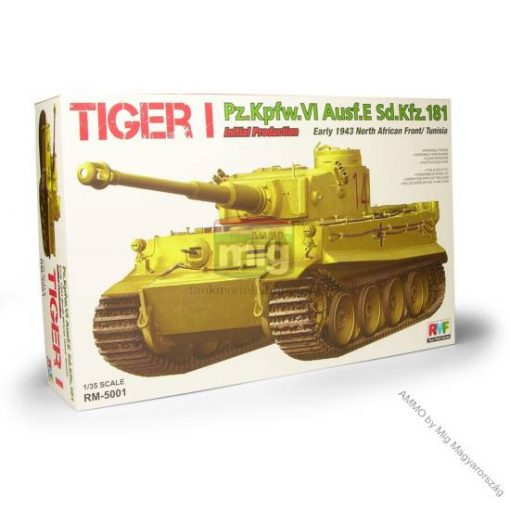 RFM5001 Tigris I, Tiger I Initial Production, Early 1943, North African Front / Tunisia makett
