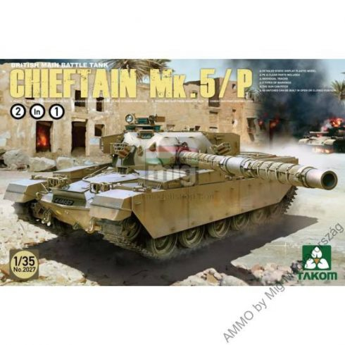 TAKO2027 British Main Battle Tank Chieftain Mk.5/P 2 in 1