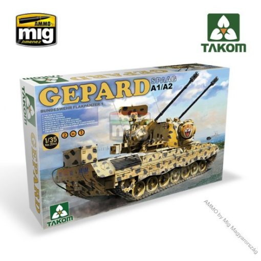 TAKO2044 BUNDESWEHR FLACKPANZER1 GEPARD SPAAG A1/A2 2 IN 1