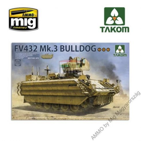 TAKO2067 1/35 BRITISH APC FV432 Mk.3 BULLDOG (2 in 1)