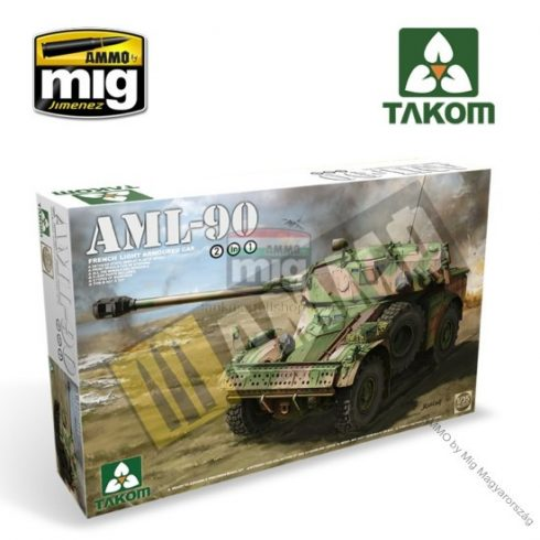 TAKO2077 French Light Armoured Car AML-90
