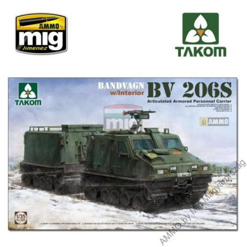TAKO2083 1/35 Bandvagn Bv 206S Articulated Armored Personnel Carrier