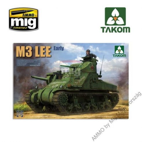 TAKO2085 1/35 US MEDIUM TANK M3 LEE EARLY