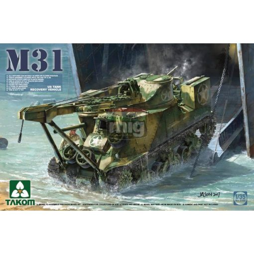 TAKO2088 1/35 M31 US TANK RECOVERY VEHICLE makett