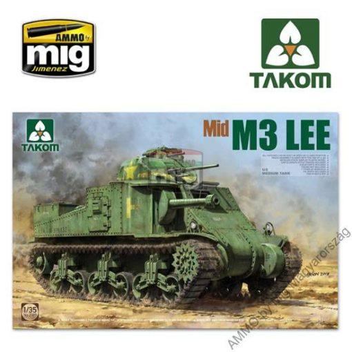 TAKO2089 1/35 US MEDIUM TANK M3 LEE MID makett