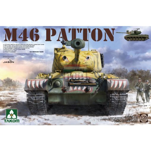 TAKO2117 1/35 US  MEDIUM  TANK M-46  PATTON