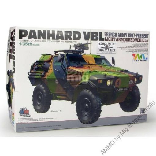 TIGE4603 French PANHARD VBL Light Armored Vehicle makett