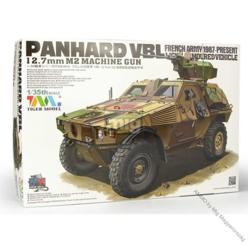 TIGE4619 PANHARD VBL 12.7MM M2 MG makett