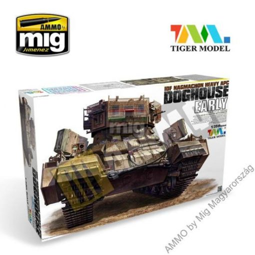 TIGE4624 NAGMACHON DOGHOUSE-EARLY makett