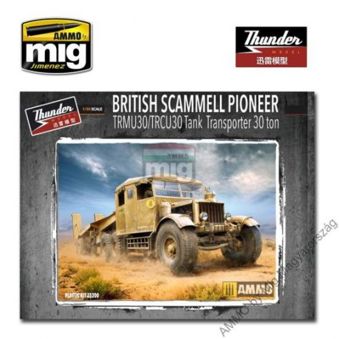 TM35200 1/35 Scammell Pioneer Tank Transporter 30t