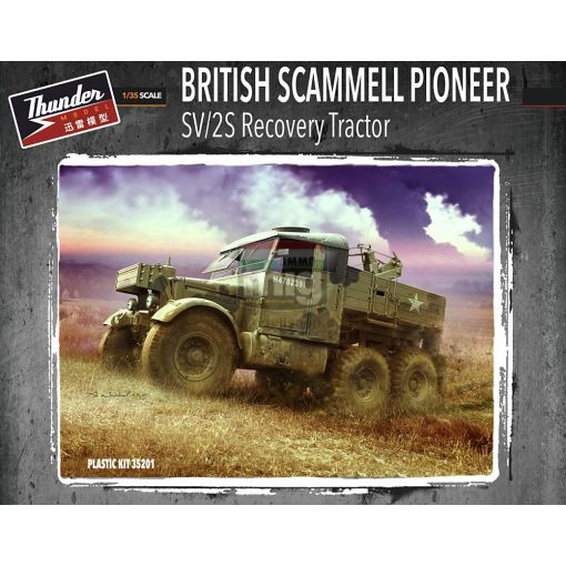 TM35201 1/35 Scammell Pioneer Recovery SV/2S makett
