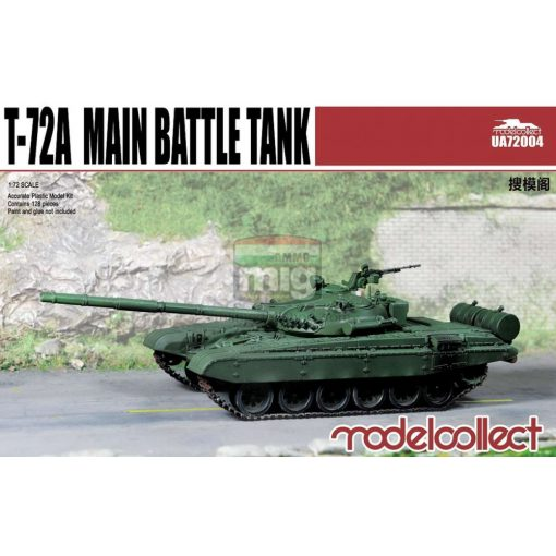 UA72004 T-72A Main battle tank makett