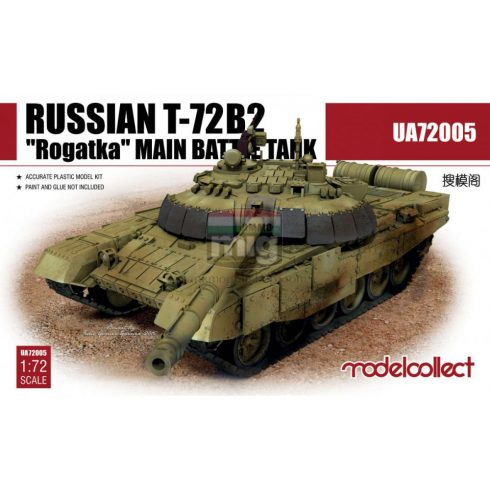 UA72005 Russian T-72B2 Rogatka Main Battle Tank