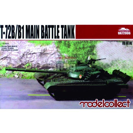UA72006 T-72B/B1 Main battle tank makett