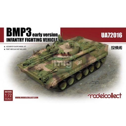 UA72016 BMP3 INFANTRY FIGHTING VEHICLE early Ver. makett