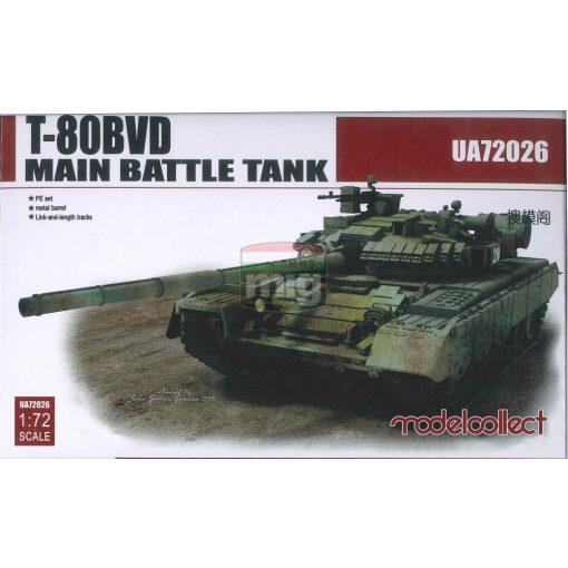 UA72026 T-80BVD Main Battle Tank makett