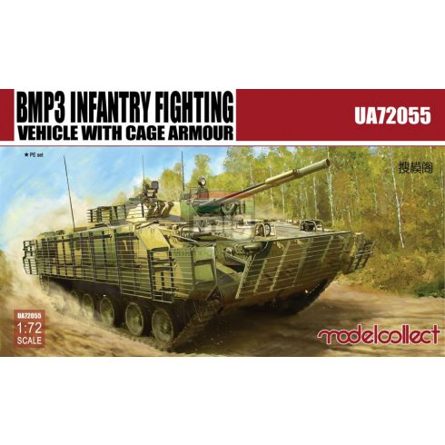 UA72055 BMP3 Infantry Fighting Vehicle with Cage Armour