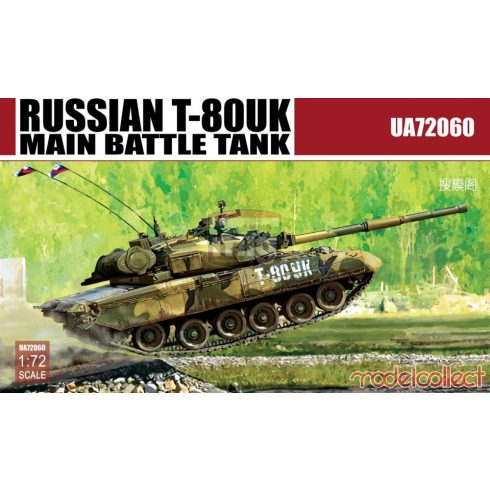 UA72060 Russian T-80UK Main Battle Tank