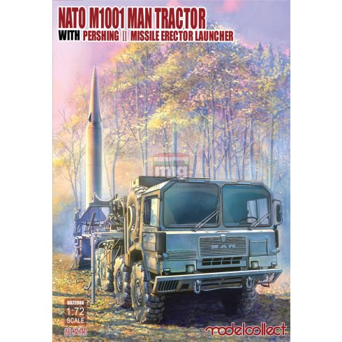 UA72084 Nato M1001 MAN Tractor & Pershing Ⅱ Missile Erector Launcher