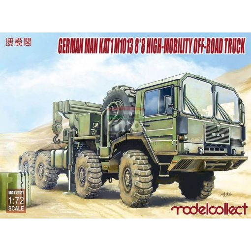 UA72121 German MAN KAT1M1013 8*8 HIGH-Mobility off-road truck makett