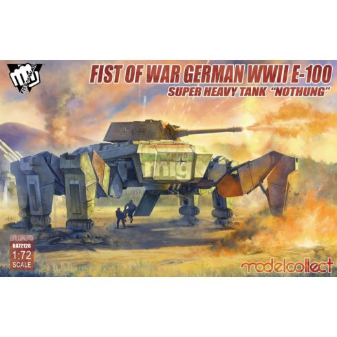 "UA72126 Fist of War German WWII E-100 Supper Heavy Tank ""Nothung"""