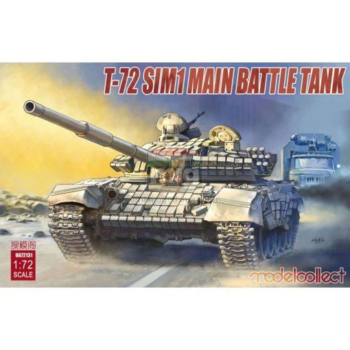 UA72131 T-72 SIM1 Main Battle Tank makett