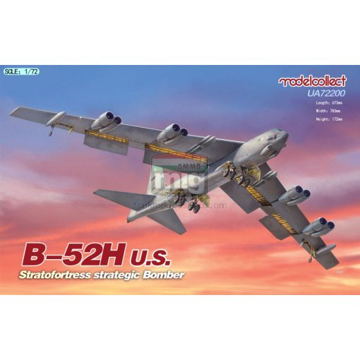 UA72200 B-52H U.S. Stratofortress strategic Bomber makett