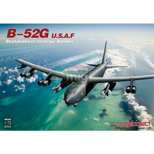 UA72202 U.S.A.F. B-52G Stratofortress strategic Bomber makett
